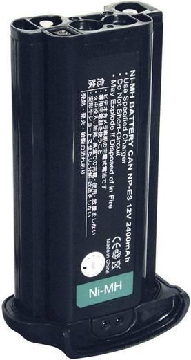 Conrad energy Camera-accu Vervangt originele accu NP-E3 12 V 1800 mAh