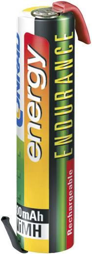 Conrad energy Endurance Micro ZLF Speciale oplaadbare batterij AAA (potlood) Z-soldeerlip NiMH 1.2 V 800 mAh