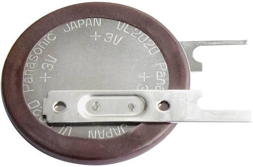 VL2020 Oplaadbare knoopcel Lithium 3 V 20 mAh Panasonic 1 stuks