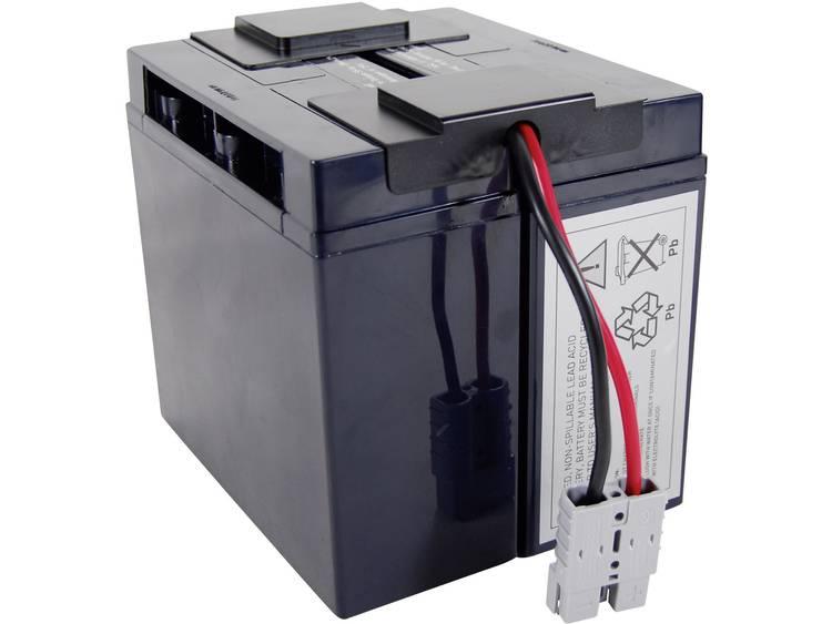 Conrad energy UPS-systeemaccu Vervangt originele accu RBC7 Geschikt voor model BP1400, BP1400X116, DLA1500, DLA1500I, SMT1500, SMT1500I, SMT1500ICH, SMT1500TW,