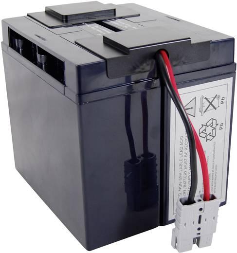 Conrad energy UPS-systeemaccu Vervangt originele accu RBC7 Geschikt voor model BP1400, BP1400X116, DLA1500, DLA1500I, SM
