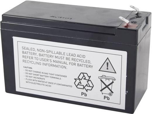 UPS-systeemaccu Conrad energy Vervangt originele accu RBC2, RBC110