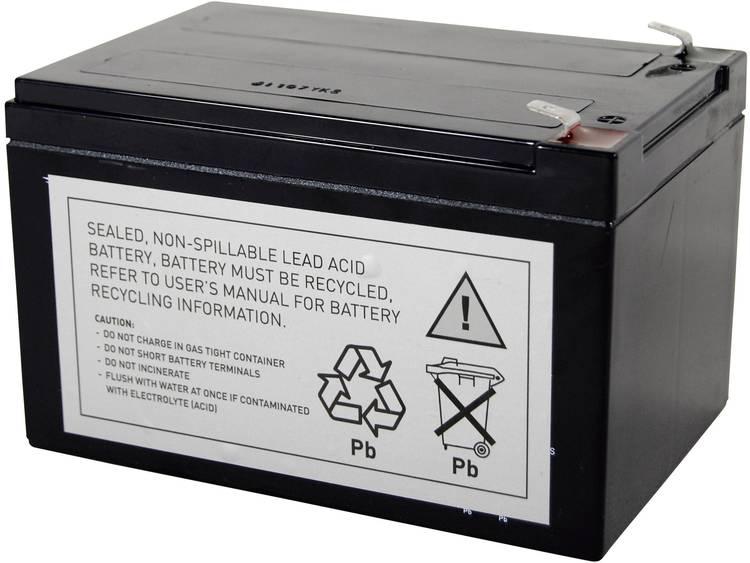 Conrad energy UPS-systeemaccu Vervangt originele accu RBC4 Geschikt voor model APC62A, BE750-CN, BE750BB, BE750BBX450, BK650MUS, BK650X06, BP500JPNP,