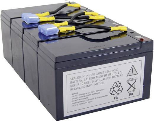 Conrad energy UPS-systeemaccu Vervangt originele accu RBC8 Geschikt voor model SU1400RMINET, SU1400RMI, SU1400RMIBX120