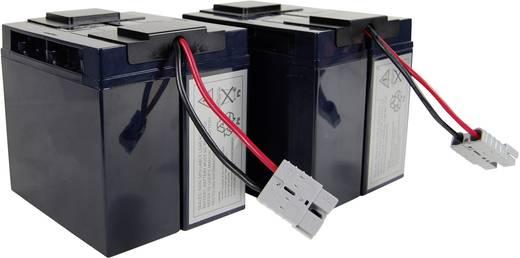 Conrad energy UPS-systeemaccu Vervangt originele accu RBC11 Geschikt voor model BP1400, BP1400X116, DLA1500, DLA1500I, S