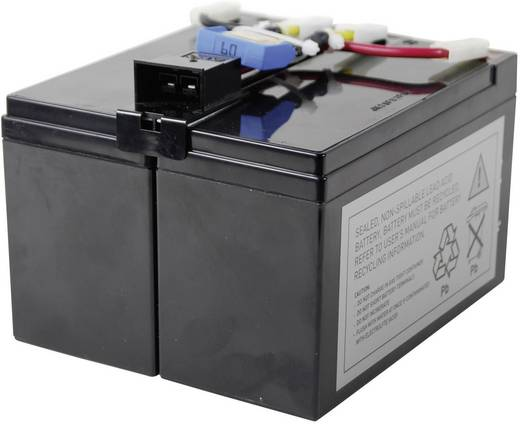 UPS-systeemaccu Conrad energy Vervangt originele accu RBC48