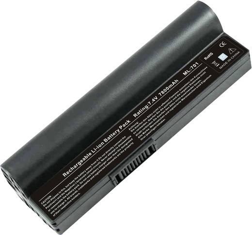 Laptopaccu Beltrona Vervangt originele accu 90-OA001B1100, A22-700, A22-P701, P22-900 7.4 V 6600 mAh