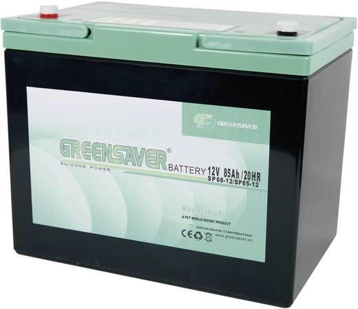 Greensaver SP85-12 Loodaccu 12 V 85 Ah SP85-12, SP67-12 Lood-silicone (l x b x h) 259 x 168 x 210 mm M8-schroefaansluiti