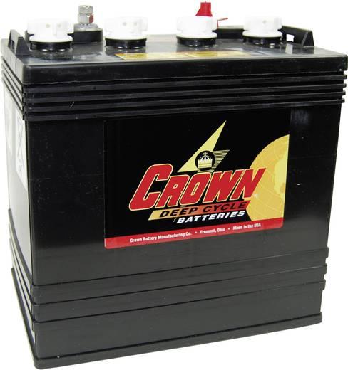 Crown Battery 1439 Loodaccu 8 V 165 Ah CR165 Loodzuur (b x h x d) 262 x 273 x 181 mm Klempool, M8-schroefaansluiting Ond