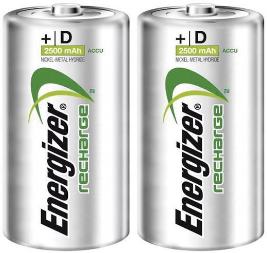 Energizer PowerPlus HR20 D oplaadbare batterij (Mono) NiMH 1.2 V 2500 mAh 2 stuks