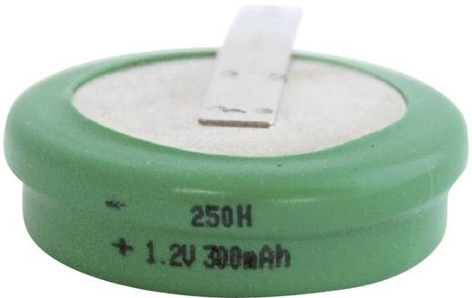Emmerich 250 H, ZLF Oplaadbare knoopcel 250H NiMH 300 mAh 1.2 V 1 stuks