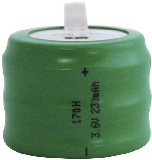 Emmerich 170 H, ZLF Oplaadbare knoopcel 170H NiMH 230 mAh 3.6 V 1 stuks