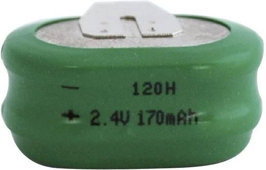 Emmerich 120 H, SLF Oplaadbare knoopcel 120H NiMH 170 mAh 2.4 V 1 stuks