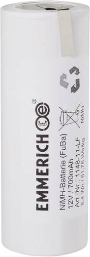 Emmerich 1148-11-LF Accupack 10 Speciale accu Z-soldeerlip NiMH 12 V 700 mAh