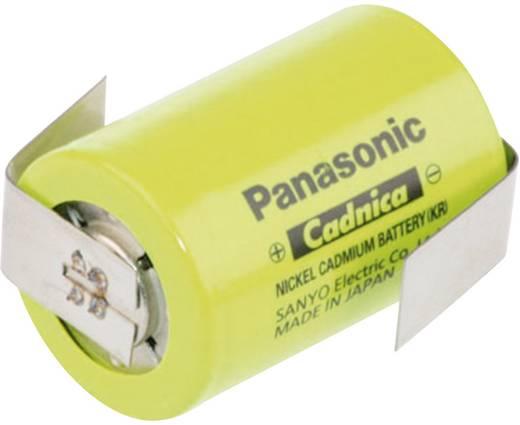 Panasonic Sub-C ZLF Speciale oplaadbare batterij 4/5 sub-C Z-soldeerlip NiCd 1.2 V 1250 mAh