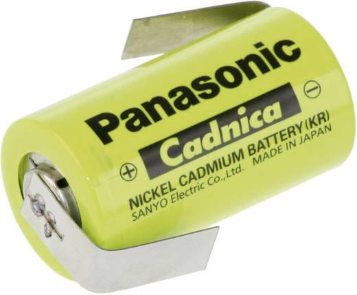 Panasonic Sub-C ZLF Speciale oplaadbare batterij Sub-C Z-soldeerlip NiCd 1.2 V 1700 mAh