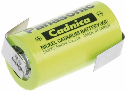 Panasonic Sub-C ZLF Speciale oplaadbare batterij Sub-C Z-soldeerlip NiCd 1.2 V 1800 mAh
