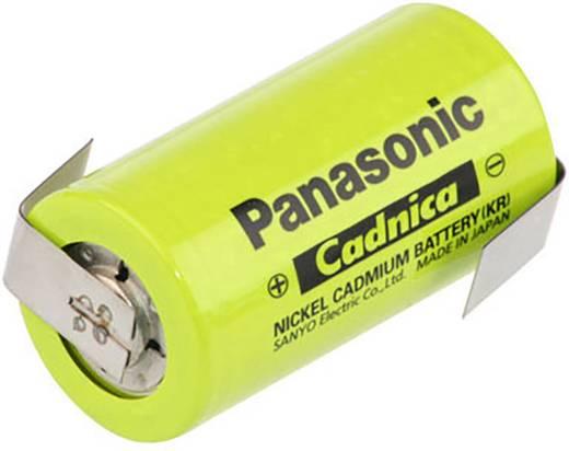 Panasonic ZLF Speciale oplaadbare batterij C (baby) Z-soldeerlip, Geschikt voor hoge temperaturen NiCd 1.2 V 2500 mAh
