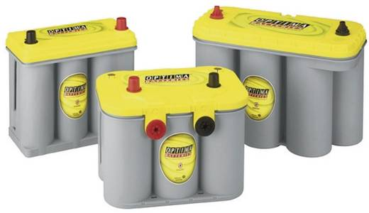 Optima Batteries 8711760008882 Loodaccu 12 V 38 Ah YTS2.7J Loodvlies (AGM) (b x h x d) 237 x 227 x 129 mm Conuspool Onderhoudsvrij, Wikkelcellenuitvoering