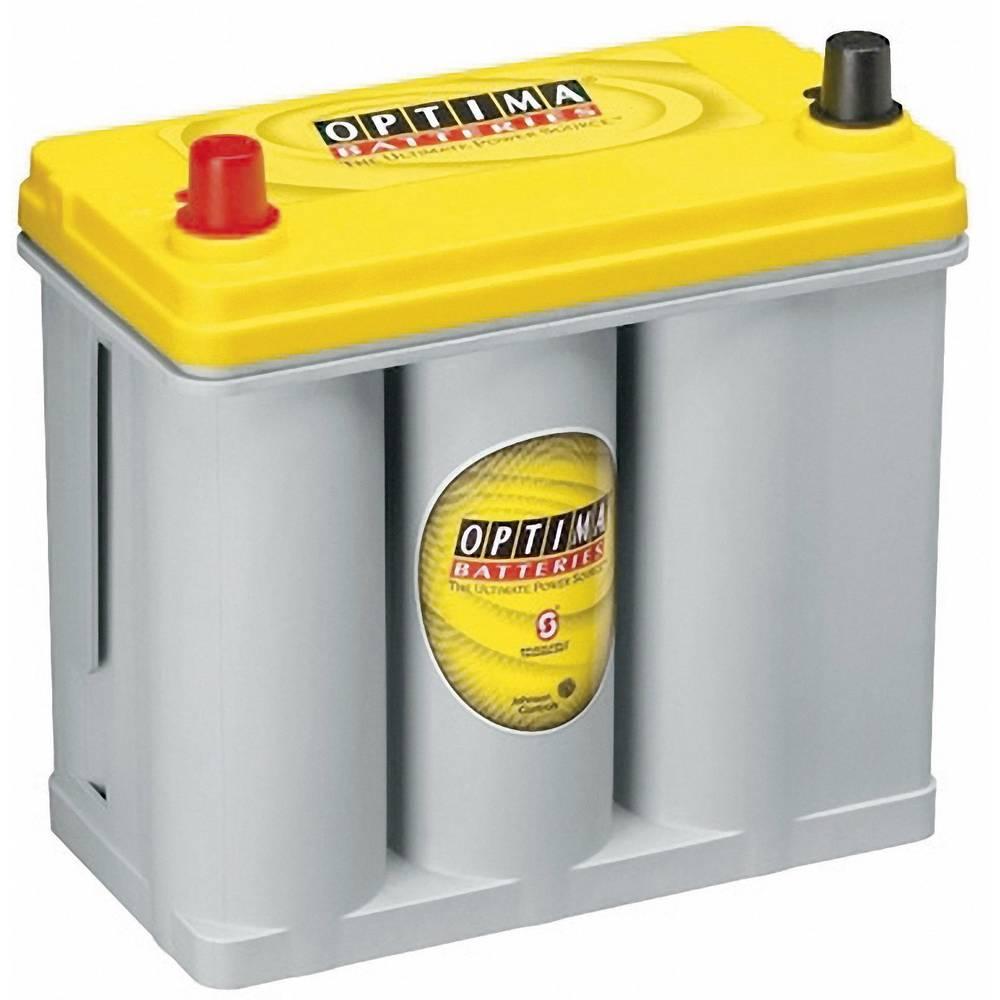 Optima Batteries YTS2.7J 8711760008882J Blybatteri 12 V 38 Ah Bly AGM (B x H x D) 237 x 227 x 129 mm Konuspol Underhållsfri, Lindad cell konstruktion