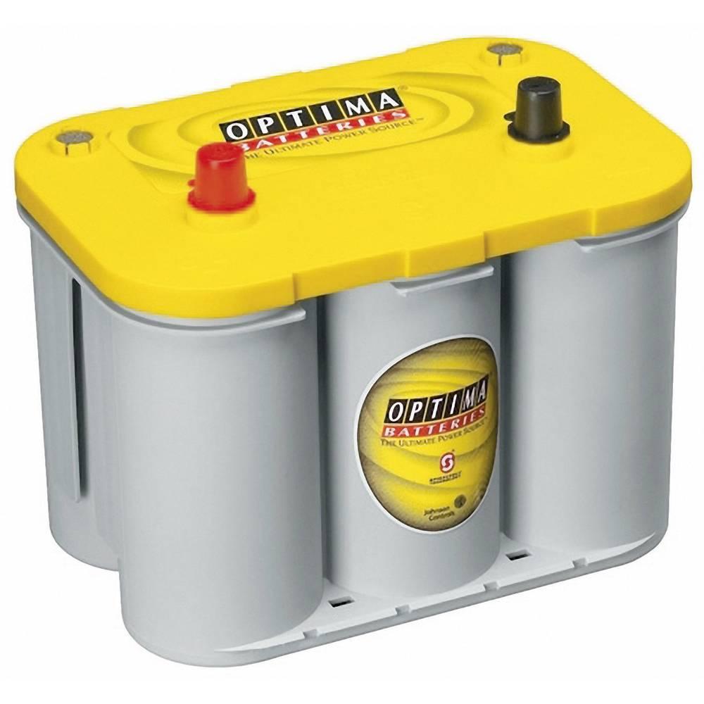 Optima Batteries YTS4.2 8122540008882 Blybatteri 12 V 55 Ah Bly AGM (B x H x D) 254 x 200 x 175 mm Konuspol Underhållsfri, Lindad cell konstruktion