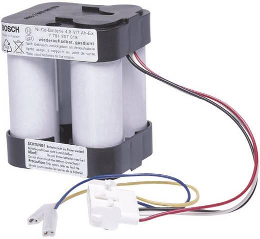 Handlampaccu Bosch Vervangt originele accu HSE7EX / SEB8 ex 4.8 V 7000 mAh