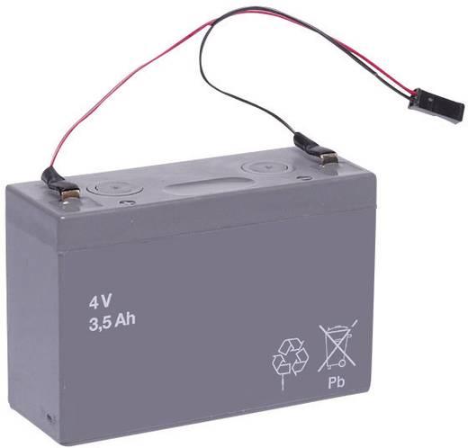 Handlampaccu Beltrona Vervangt originele accu HALO4A 4 V 3400 mAh