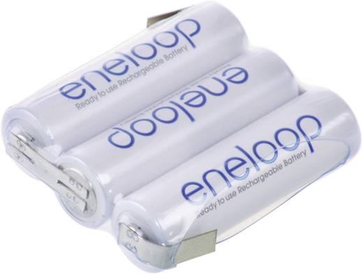 NiMH Accupack 3.6 V 1900 mAh AA (penlite) Z-soldeerlip Panasonic eneloop Reihe F1x3