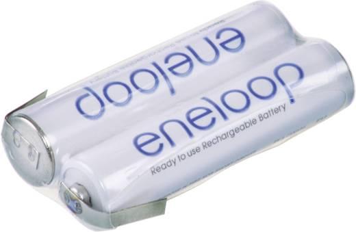 Panasonic eneloop Reihe F1x2 Accupack 2 AAA (potlood) Z-soldeerlip NiMH 2.4 V 750 mAh