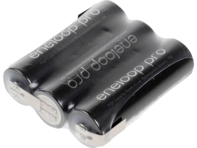 Panasonic eneloop Pro Reihe F1x3 Accupack NiMH 3.6 V 2450 mAh AA (penlite) Z-soldeerlip