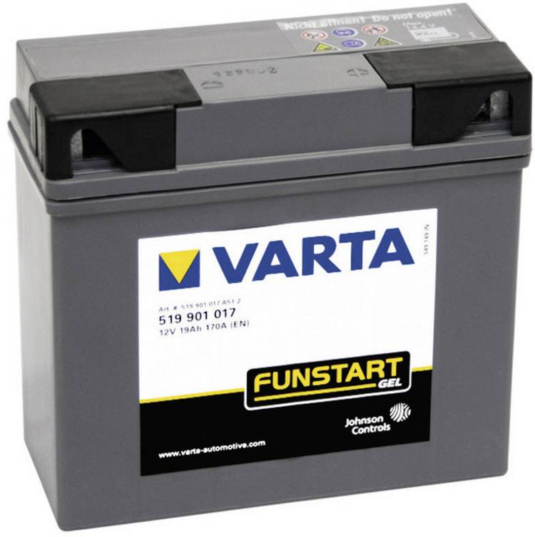 Image of VARTA motorfiets-accu BMW gel