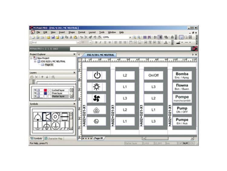 Software M-PRINT PRO Weidmüller Inhoud: 1 stuks
