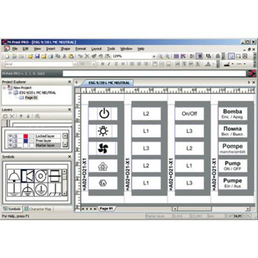 Software M-PRINT PRO Weidmüller Inhoud: 1 s