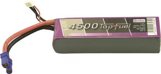LiPo accupack 11.1 V 4500 mAh 20 C Hacker EC5