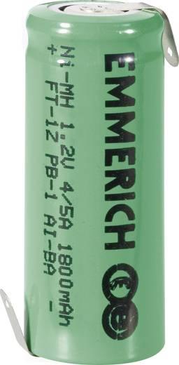 4/5 A Speciale oplaadbare batterij 1.2 V NiMH 1800 mAh Emmerich 4/5 A ZLF 1 stuks