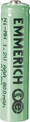 Oplaadbare AAA batterij (potlood) Emmerich HR03 NiMH 800 mAh 1.2 V 1 stuks