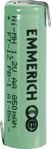 AA (penlite) Speciale oplaadbare batterij 1.2 V NiMH 850 mAh Emmerich Mignon ZLF 1 stuks