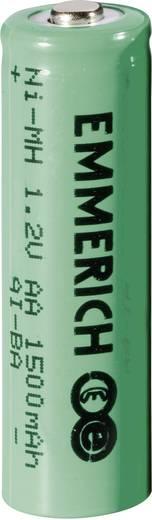 Oplaadbare AA batterij (penlite) NiMH Emmerich HR06 1500 mAh 1.2 V 1 stuks