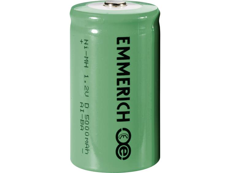 Emmerich HR20 Oplaadbare D batterij (mono) NiMH 5000 mAh 1.2 V 1 stuk(s)
