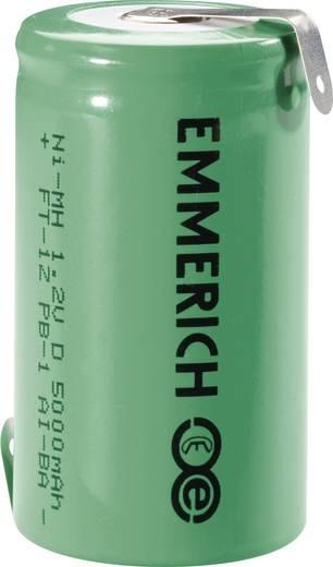 D (mono) Speciale oplaadbare batterij 1.2 V NiMH 5000 mAh Emmerich Mono ZLF 1 stuks