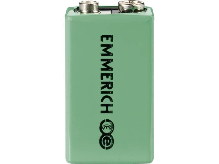 Emmerich 6LR61 Oplaadbare 9V batterij (blok) NiMH 8.4 V 160 mAh 1 stuk(s)