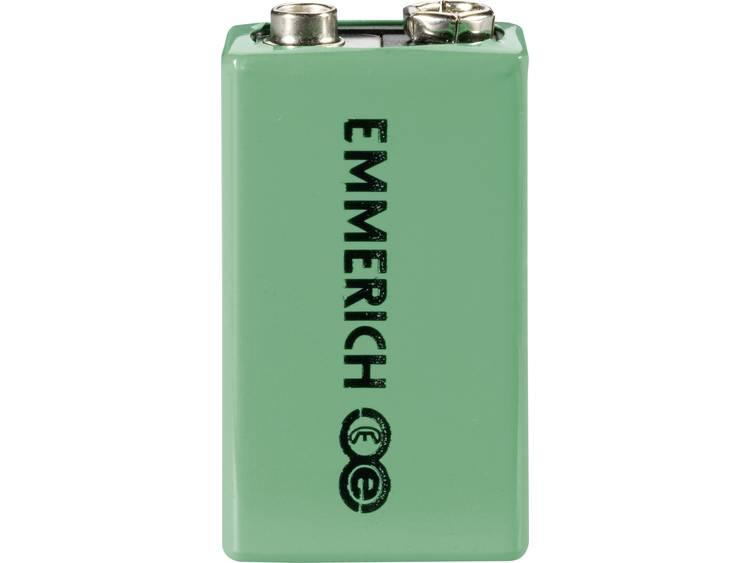 Emmerich 6LR61 Oplaadbare 9V batterij (blok) NiMH 9.6 V 200 mAh 1 stuk(s)