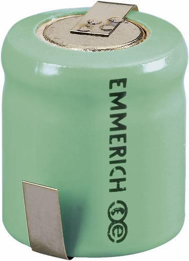 Emmerich 1/3 Mignon ZLF Speciale oplaadbare batterij 1/3 AA Z-soldeerlip NiMH 1.2 V 300 mAh