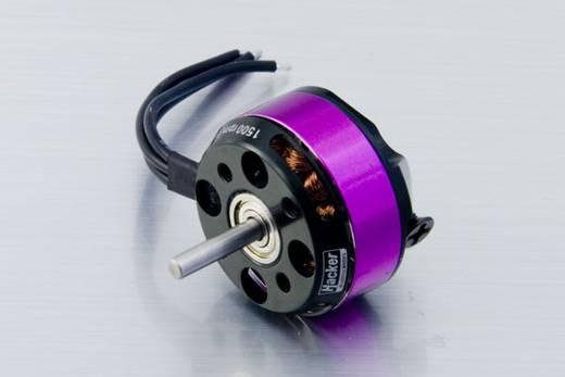 Hacker A20-34 S EVO Brushless elektromotor voor vliegtuigen kV (rpm/volt): 1500 Aantal windingen (turns): 34