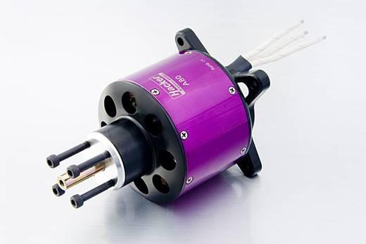 Hacker A80-8 Brushless elektromotor voor vliegtuigen kV (rpm/volt): 218 Aantal windingen (turns): 8
