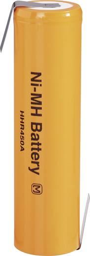 Panasonic HHR450A-LF Speciale oplaadbare batterij 4/3 FA Z-soldeerlip NiMH 1.2 V 4500 mAh