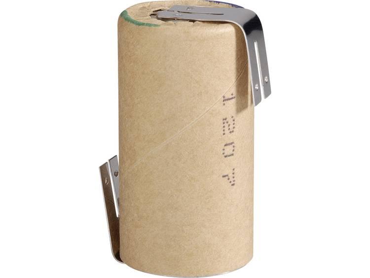 Panasonic HHR30SCP/PP-LF Speciale oplaadbare batterij Sub-C Z-soldeerlip NiMH 1.2 V 2800 mAh