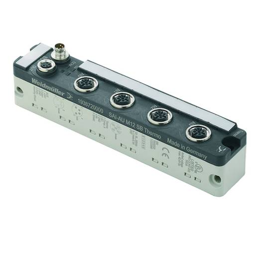 Sensor-/actuatorbox SAI-AU M12 SB 4THERMO Weidmüller Inhoud