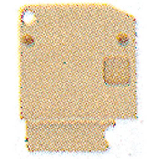 Weidmüller AP SAK4-10 KRG/BL Afsluitplaat 20 stuks