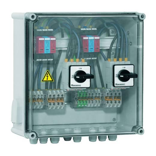 Weidmüller PV DC 2INX2 2SW 2MPPT 2SPD CG 1000V 7504811012 Overspanningsveilige aansluitkast Overspanningsbeveiliging vo